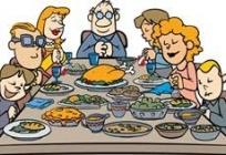 Repas des familles